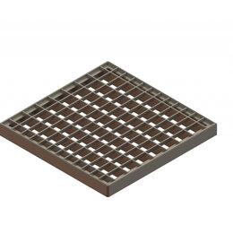 Решетки - Standartpark Решетка Basic РВ-28.28 ячеистая стальная оцинкованная 3320, 0