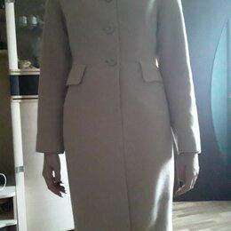 Пальто - Пальто женское демисезонное верх шерсть, 0