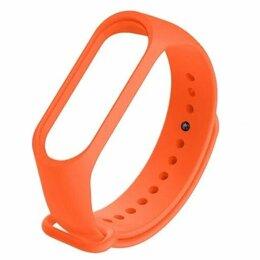 Ремешки для часов - Ремешок силиконовый для Mi Band 5 Оранжевый, 0