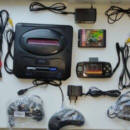 Игровые приставки - Sega mega drive 2, 0