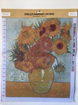 Рукоделие, поделки и товары для них - Канва для вышивки. Ван Гог. Подсолнухи. 39 х 47…, 0