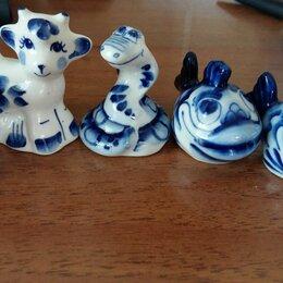 Статуэтки и фигурки - Посуда и фигурки из гжели, 0