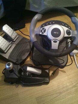 Рули, джойстики, геймпады - Руль и педали Dialog GW-300, 0