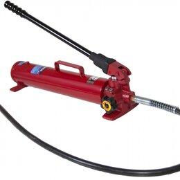 Спецтехника и навесное оборудование - Гидравлический насос ручной LICOTA ATS-4093AK1, 20 тонн, для пресса, двухскорост, 0