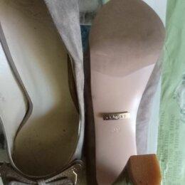 Туфли - Продаю туфли замшевые бу, 0