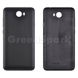 Корпусные детали - Задняя крышка для Huawei  Y5 II (LYO-L21) (черный), 0