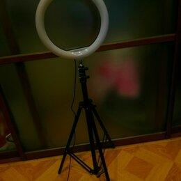 Переносные светильники - Кольцевая лампа unihit 26 см диаметр, 0