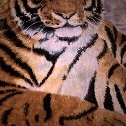 Пледы и покрывала - пледы с Тигром уссурийским, 0