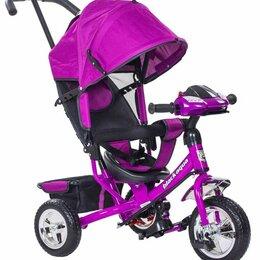 Трехколесные велосипеды - Велосипед 3-х кол. детский ненадувные колеса, 0