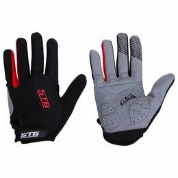 Защита и экипировка - Перчатки c длинными пальцами черные STG XL, 0