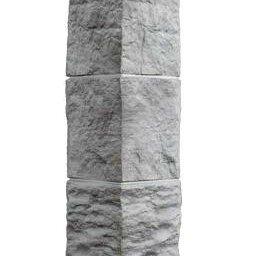 Скальные туфли - Угол наружный FineBer Дачный Туф 3D Светло - серый, 0