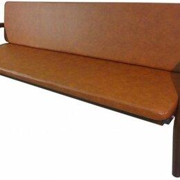 Мебель для учреждений - Купить диван офисный 4-х местный, 0