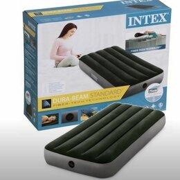 Надувная мебель - Матрас надувной INTEX 25см, 0