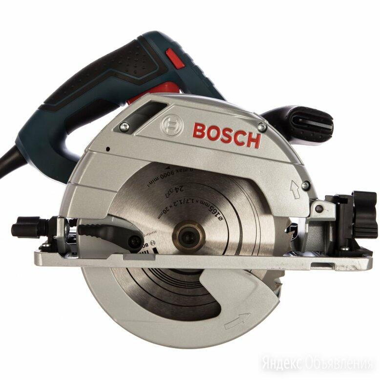 Ручная циркулярная пила Bosch GKS 55+ GCE 601682100 по цене 17289₽ - Дисковые пилы, фото 0