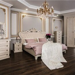 Кровати - Спальня Афина корень крем 1,8, 0
