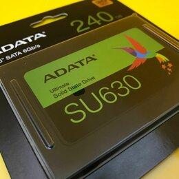 Жёсткие диски и SSD - SSD Накопитель A-Data 240GB SU630, 0