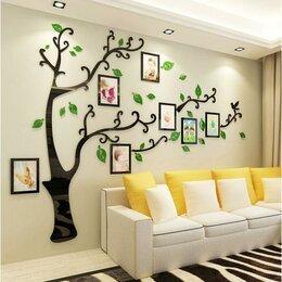 """Картины, постеры, гобелены, панно - Декор настенный с фоторамками """"Семейное дерево"""", 150х210 см, 0"""