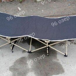 Походная мебель - Раскладушка кемпинговая 190 см, 0