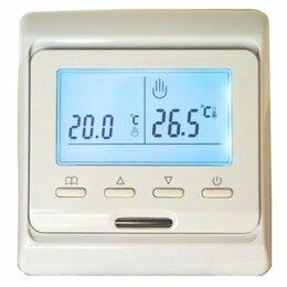 Электрический теплый пол и терморегуляторы - Терморегулятор для теплого пола (программируемый), 0