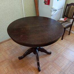 Столы и столики - Стол круглый раскладной, 0