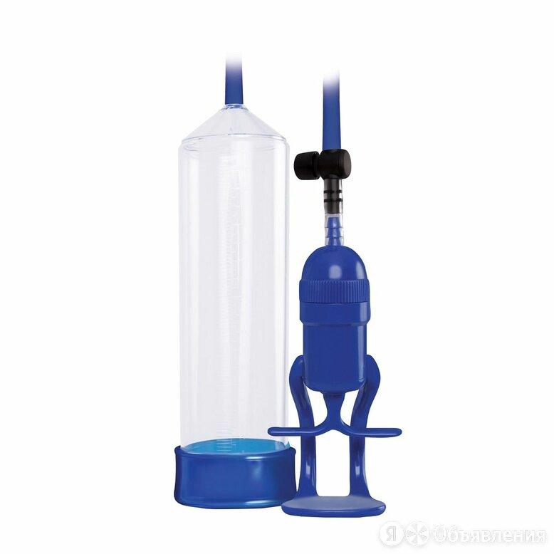 вакуумный массаж NS Novelties Прозрачно-синяя вакуумная помпа Renegade Bolero... по цене 2624₽ - Устройства, приборы и аксессуары для здоровья, фото 0