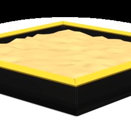 Песочницы - Песочницы ROMANA Песочница 2000 х 2000 (коричневый), 0