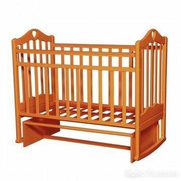 Кроватка Антел Каролина 3 маятник поперечного качания по цене 7250₽ - Кроватки, фото 0