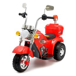 Электромобили - Электромобиль «Чоппер», цвет красный, 0