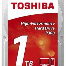 Жёсткие диски и SSD - 1 ТБ Жесткий диск Toshiba P300 новый, 0