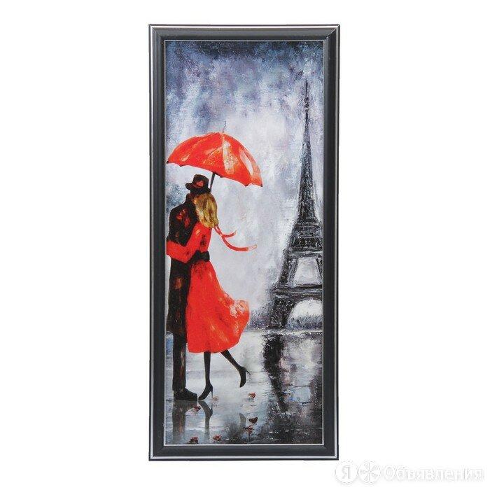 """Картина """"Любовь в Париже"""" 53*23 см по цене 700₽ - Картины, постеры, гобелены, панно, фото 0"""