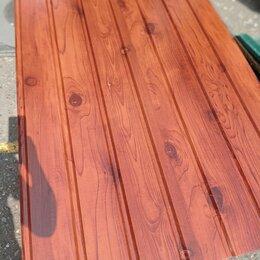 Сайдинг - Фасадный профиль С13 (6мх1,17м) цвет темное дерево, 0
