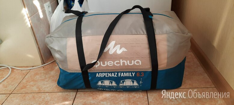 Палатка quechua arpenaz family 6.3 по цене 13000₽ - Палатки, фото 0