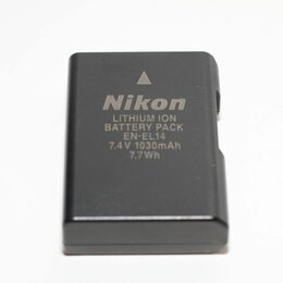 Аккумуляторы и зарядные устройства - Аккумулятор Nikon EN-EL14 (оригинал) б/у, 0