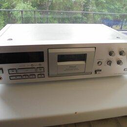 Музыкальные центры,  магнитофоны, магнитолы - Кассетная дека Sony TC-KB920S серебристого цвета, 0