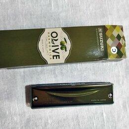 Губные гармошки - Губная гармошка Suzuki C-20 Olive C гармоника, 0