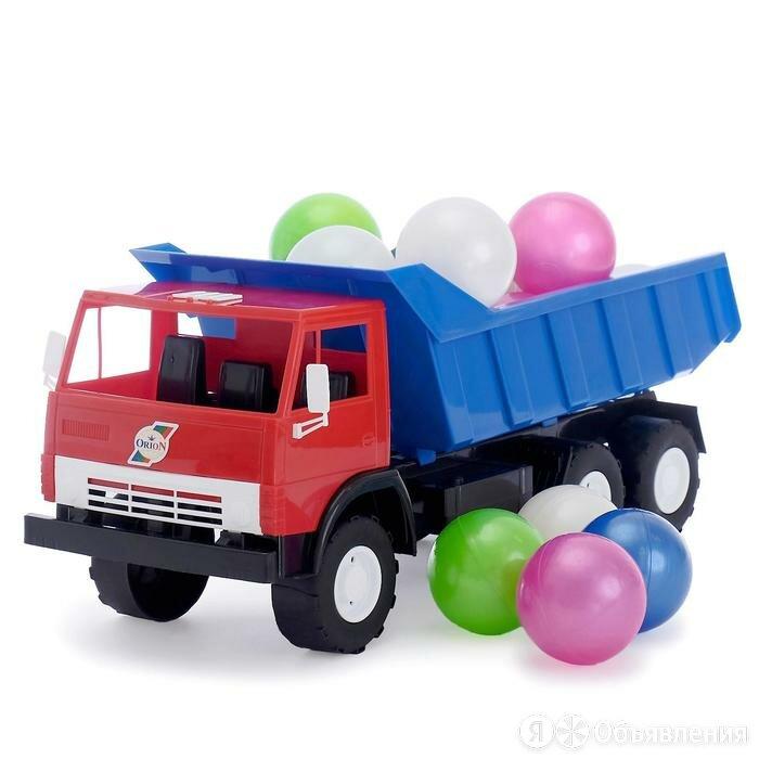 Машина «Камаз», с шариками, МИКС по цене 2018₽ - Развивающие игрушки, фото 0
