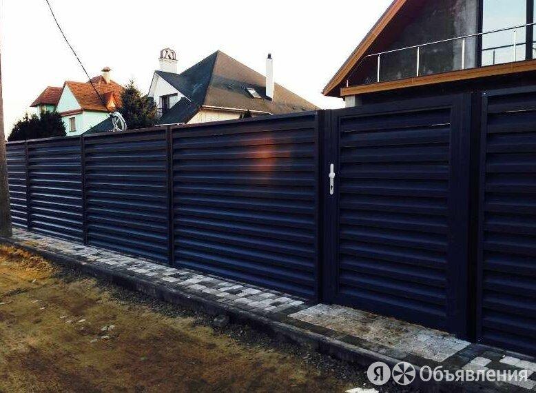 Забор жалюзи по цене 1150₽ - Заборы, ворота и элементы, фото 0