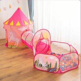 """Игровые домики и палатки - Игровая палатка с туннелем """"прицесса"""", 0"""