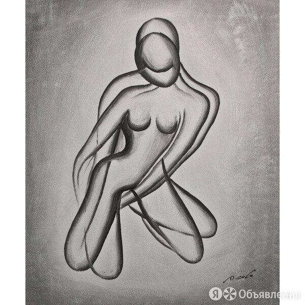 """Картина """"Тень"""", холст, масло, 50х60см по цене 2700₽ - Картины, постеры, гобелены, панно, фото 0"""