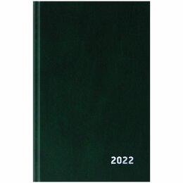 Канцелярские принадлежности - Ежедневник А5  2022г. OfficeSpace, бумвинил, черный, 0