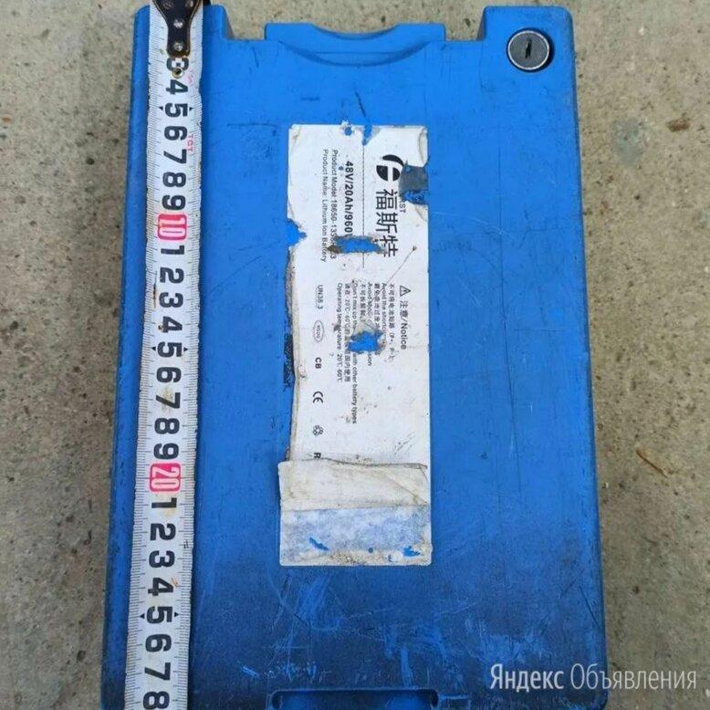 Аккумулятор 48v 20ah по цене 12000₽ - Аксессуары и запчасти, фото 0