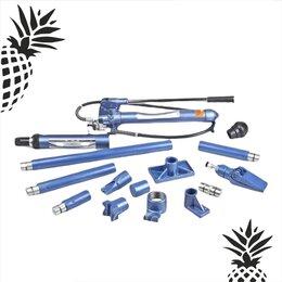 Наборы инструментов и оснастки - Растяжка гидравлическая Stels 10 тонн 16 предметов, 0