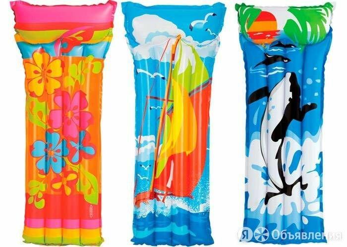 Надувной матрас для плавания по цене 398₽ - Круги и матрасы , фото 0