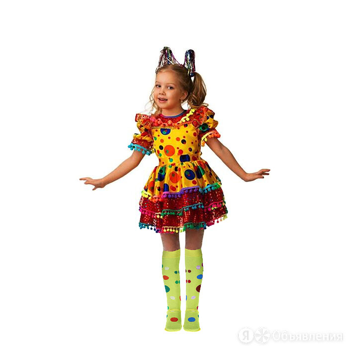 Карнавальный костюм 'Хлопушка', сатин, размер 32, рост 122 см по цене 2501₽ - Карнавальные и театральные костюмы, фото 0