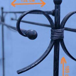 Вешалки напольные - Кованая вешалка и зонтница напольные, 0