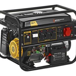 Электрогенераторы и станции - Генератор бензиновый Auster SGG-8000XTP 220/380V, 0