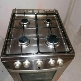 Плиты и варочные панели - Плита газовая gorenie нержавейка, 0