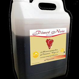 Ингредиенты для приготовления напитков - Винное сортовое сусло PINOT NOIR 5кг., 0