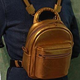 Рюкзаки - Ретро рюкзак кожаный женский, 0