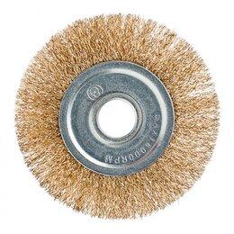 Для шлифовальных машин - Щетка металл. для УШМ 125мм/22мм, плоская ЕРМАК..., 0